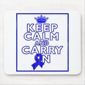Ankylosing Spondylitis Keep Calm and Carry ON Mouse Pad