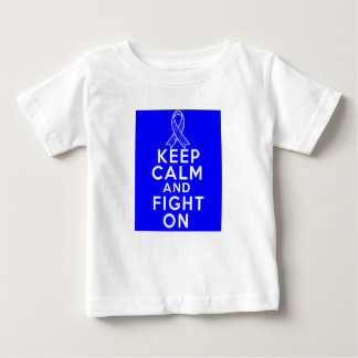 Ankylosing Spondylitis Keep Calm and Fight On T-shirt