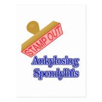 Ankylosing Spondylitis Postcard