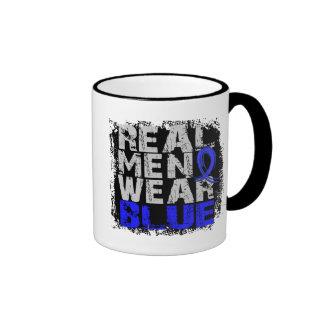 Ankylosing Spondylitis Real Men Wear Blue Ringer Coffee Mug