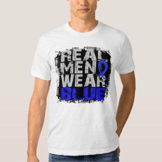 Ankylosing Spondylitis Real Men Wear Blue T Shirt