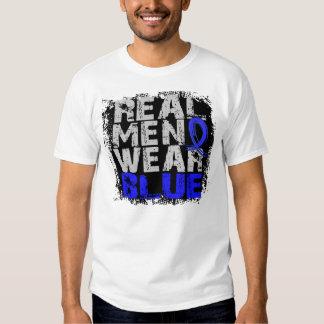 Ankylosing Spondylitis Real Men Wear Blue Tshirts