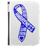 Ankylosing Spondylitis Slogans Ribbon Kindle 3G Cases