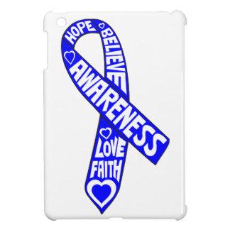 Ankylosing Spondylitis Slogans Ribbon iPad Mini Cover