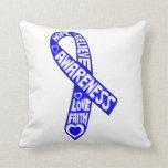 Ankylosing Spondylitis Slogans Ribbon Pillow