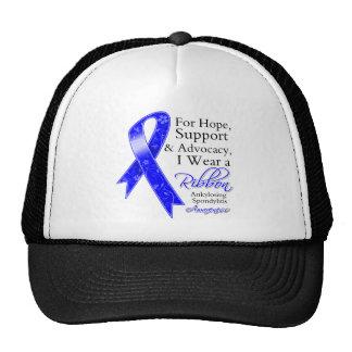 Ankylosing Spondylitis Support Hope Trucker Hats