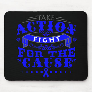 Ankylosing Spondylitis Take Action Fight For Cause Mouse Pad