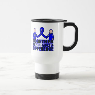 Ankylosing Spondylitis Together We Will Make A Dif 15 Oz Stainless Steel Travel Mug