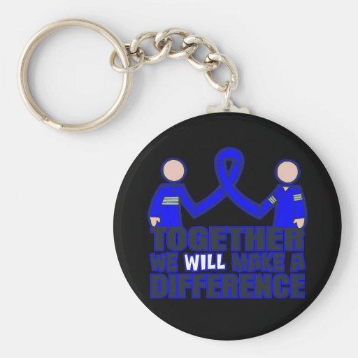 Ankylosing Spondylitis Together We Will Make A Dif Keychain