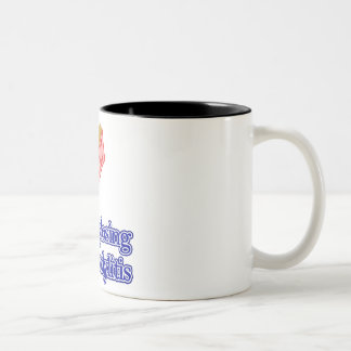 Ankylosing Spondylitis Two-Tone Coffee Mug
