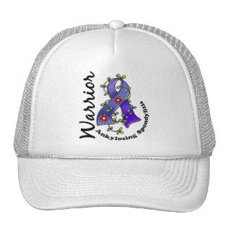 Ankylosing Spondylitis Warrior 15 Mesh Hats