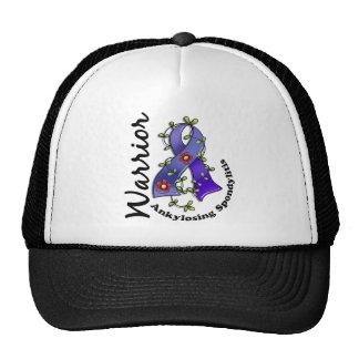 Ankylosing Spondylitis Warrior 15 Mesh Hat