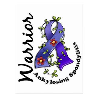 Ankylosing Spondylitis Warrior 15 Postcard