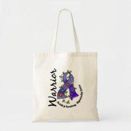 Ankylosing Spondylitis Warrior 15 Tote Bag