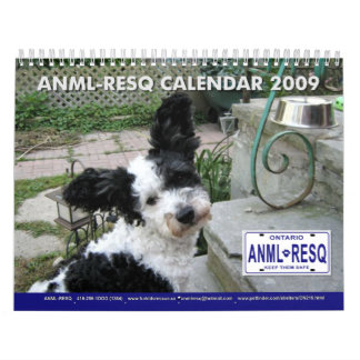 ANML-RESQ WALL CALENDARS
