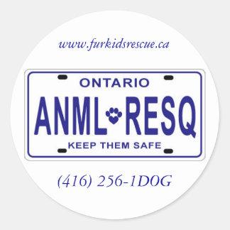 ANML-RESQ Stickers