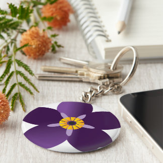 Anmoruk Brilok Basic Round Button Keychain
