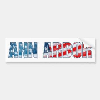 Ann Arbor Bumper Sticker