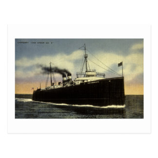 Ann Arbor Car Ferry No. 6 - Arthur K. Atkinson Post Cards