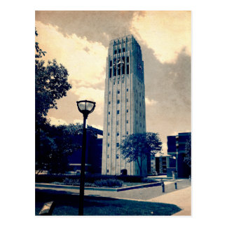 Ann Arbor Clock Tower Postcard
