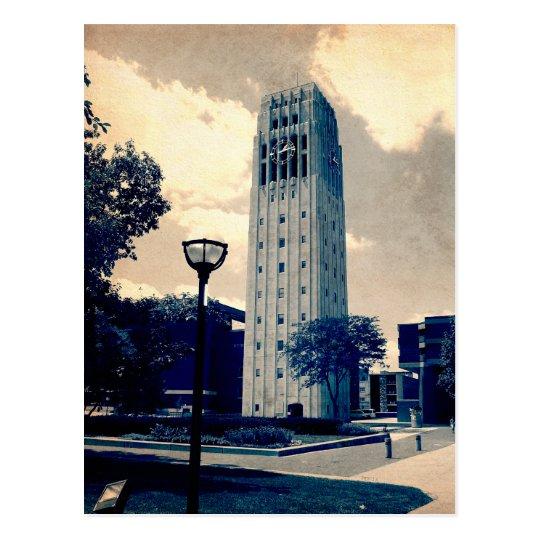 Ann Arbor Clock Tower Postcard