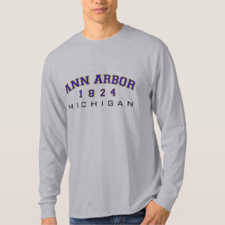 Ann Arbor, MI - 1824 Tee Shirts