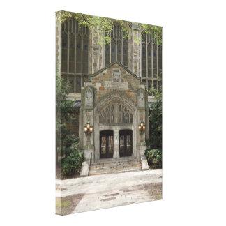 Ann Arbor Michigan Architecture Canvas Print