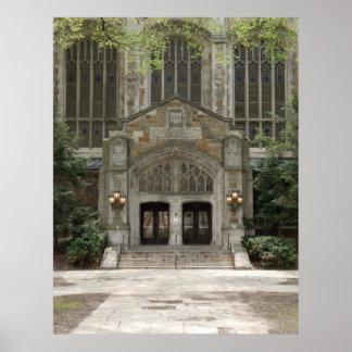 Ann Arbor Michigan Architecture Poster