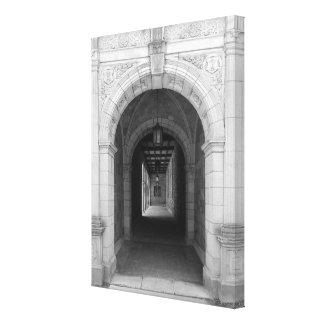 Ann Arbor Michigan Archway Canvas Print