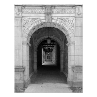 Ann Arbor Michigan Archway Poster