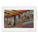 Ann Arbor, Michigan - escenas grandes de la letra Tarjeta De Felicitación