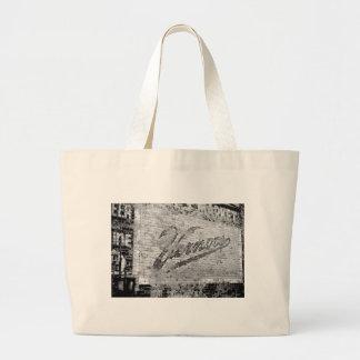 Ann Arbor Michigan Vernor's Brick Wall Vintage Jumbo Tote Bag