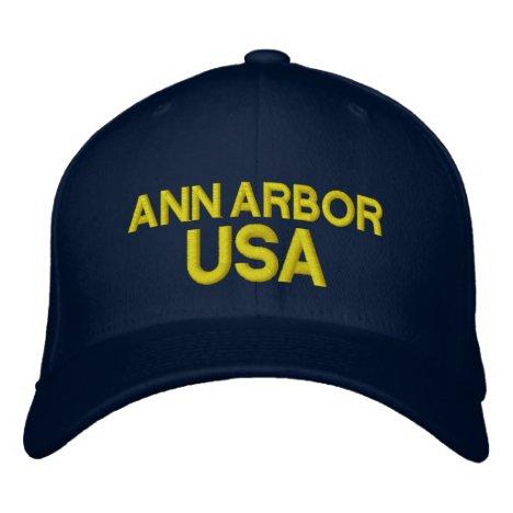 Ann Arbor USA Cap