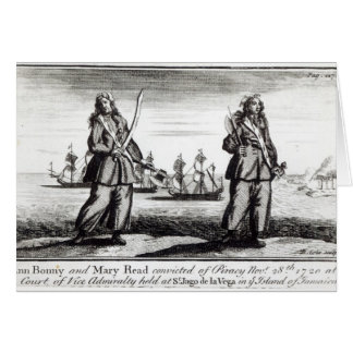 Ann Bonny and Mary Greeting Card