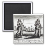 Ann Bonny and Mary Refrigerator Magnets