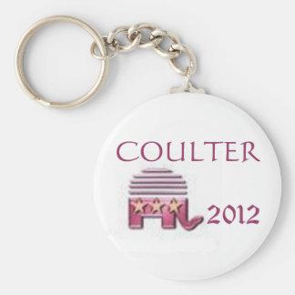 Ann Coulter 2012 Basic Round Button Keychain