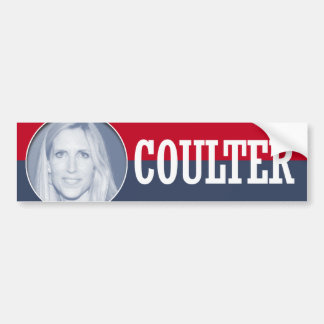 ANN COULTER 2016 BUMPER STICKERS