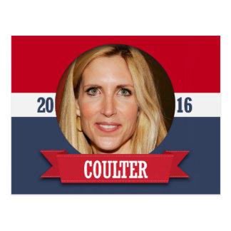 ANN COULTER 2016 POSTCARD