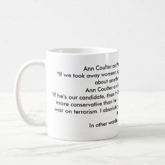 Ann Coulter is an IDIOT! Coffee Mug