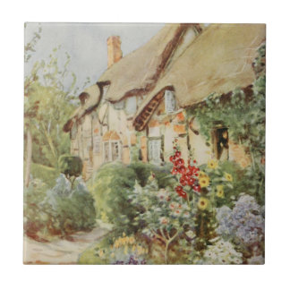 Ann Hathaway's Cottage II, Stratford-upon-Avon, En Small Square Tile