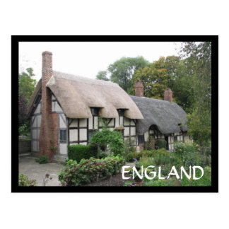 Ann Hathaway's Cottage Postcard