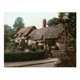 Ann Hathaway's Cottage, Shottery, England, c.1895 Postcard