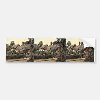 Ann Hathaway's Cottage, Stratford-on-Avon, England Bumper Sticker