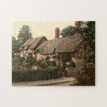 Ann Hathaway's Cottage, Stratford-on-Avon, England Jigsaw Puzzles