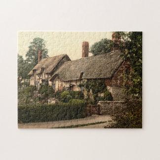 Ann Hathaway's Cottage, Stratford-on-Avon, England Puzzle
