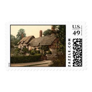 Ann Hathaway's Cottage, Stratford-on-Avon, England Stamp