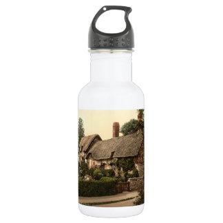 Ann Hathaway's Cottage, Stratford-on-Avon, England Water Bottle