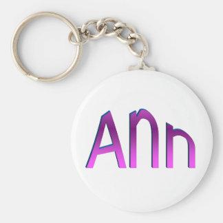 Ann Keychain