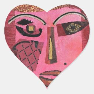Ann of Green Gables. Heart Sticker