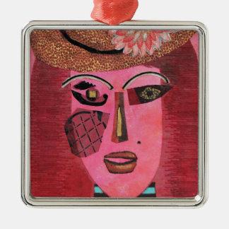 Ann of Green Gables. Metal Ornament